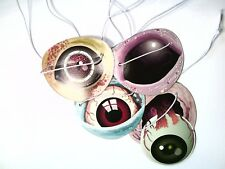 Zombies 8 Paper Eyepatches -Toys Halloween Prizes Pinata Pack Loot Bags Monster