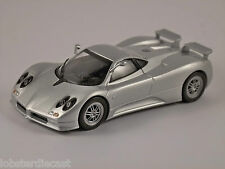 PAGANI ZONDA C12S in Silver 1/43 scale model