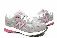 New Balance Youth 990 Series Grey Pink Running Shoes KJ990GPG Sizes:4 - 6