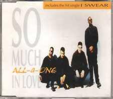 All-4-One - So Much In Love - CDM - 1994 - Pop RnB Swing