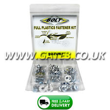 SUZUKI RM125 2001-2012 Full Plastics Fastener Kit - Nuts/Bolts/Washers