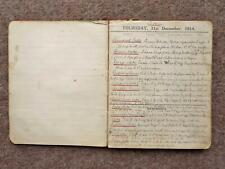 More details for 1915 tatty handwritten recipe book owned by kate coward relative of noel coward