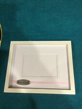 New Its A Girl Picture Frame in white