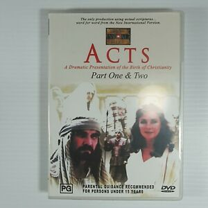 'ACTS'  2 DVD set the visual bible