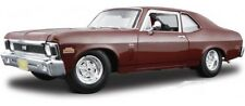 CHEVROLET NOVA CHEVY SS COUPE HARD TOP 1970 BROWN MAISTO 31132 1/18 MARRON