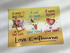 Limited Edition 'KissMeQuick' Seaside Postcard SPC70 - Eastbourne