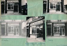 PARIS c. 1950 - Confiserie rue Ramey Commerces - Pl 37