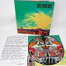 Noel Gallagher Who Built the Moon Picture disc LP + Lyric sheet Oasis