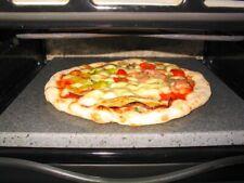 PIASTRA OLLARE FORNO PIZZA PANE IN PIETRA REFRATTARIA LAVICA ETNA  VARIE MISURE