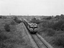PHOTO  1975 CIE'S 001 CLASS DIESEL LOCO TRAIN APPROACHING KILTIMAGH HEADED BY ON