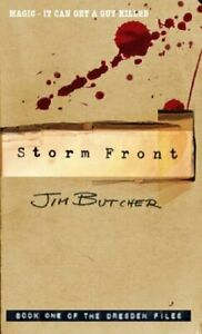 Storm Front: The Dresden Files, Book One by Butcher, Jim Paperback Book The