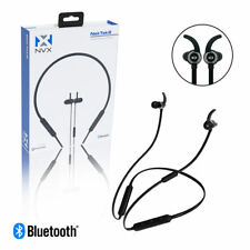 NVX NekTek2 Sport Neckband Bluetooth Magnetic In-Ear Earbuds Wireless Headphones