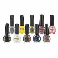 Lot of Nicole By OPI Finger Nail Polish Color Lacquer 10-Piece Glitter Set