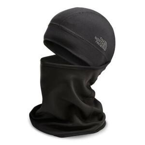 The North Face BLACK Underballa Balaclava Ski Mask Snood Beanie L / XL