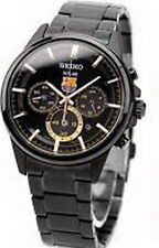 Seiko Solar Spirit FCB Barcelona Chronograph Men's Watch SBPY051J1