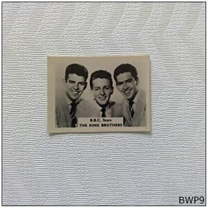 B.B.C. Star The King Brothers Small Old Photograph (BWP9)