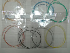 8x 2meters HABIA AWG32 Teflon insulated silver plated multicore wires 8 colors