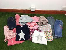 Girls Age 2-3 Years Clothes Bundle Next Mini Club 14 Items B250