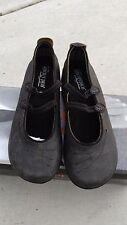 NIB Arcopedico 6383 Womens Blossom VB Black Ballet Flat Shoes 39 EU / 8 - 8.5 US