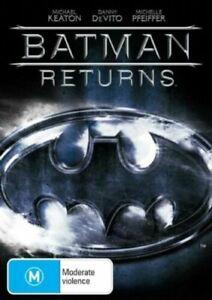 BATMAN RETURNS DVD MICHAEL KEATON DANNY DEVITO REGION 4 NEW AND SEALED