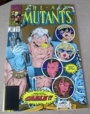 THE NEW MUTANTS #87 1ST APPEARANCE CABLE 2ND PRINT GOLD 9.6 LIEFELD/MACFARLANE