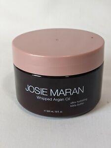 Josie Maran Whipped Argan Oil Body Butter Unscented Light Bronze, 19oz Sealed