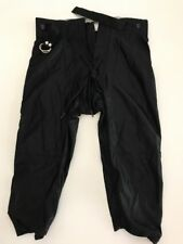 Alleson ahletics navy blue//white yth large integrated reversible football pants