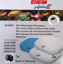 Ricambi Spugne Filtro EHEIM Experience 350 Professionel 2226 2326 2328 2026 2228