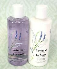 Crabtree & Evelyn Lavender Body Lotion with Bath & Shower Gel 2-Pack 8.5 oz