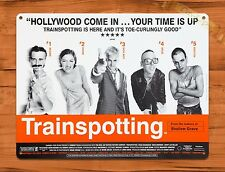 TIN-UPS Tin Sign Trainspotting Vintage Movie Art Poster
