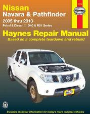 Nissan Navara D40 Nissan Pathfinder R51 2WD 4WD Petrol Diesel 2005 - 2013 #72732