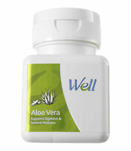 WELL ALOE VERA support a healthy digestive system  (60 TABLETS)