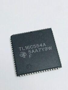 2pcs- TL16C554AFN,  MFR= TI, IC, UART, 4-CH,16-Byte, 3.3/5.0V, 68-Pin, PLCC