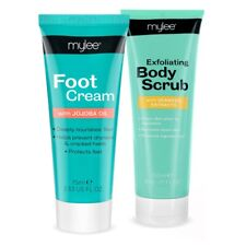 MYLEE Foot Cream Exfoliating Scrub Pedicure Set Moisturising Soft Feet Dry Skin