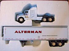 ALTERMAN Kenworth Semi Truck Reefer Trailer PEM Precision Engineering 1/64 Toy