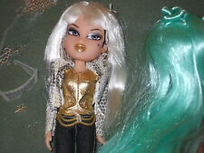 Bratz dolls -- Style Starz Jade - original outfit + both wigs + mic on stand