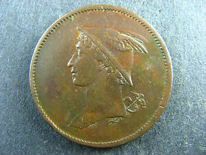 Mercucry token Withers 631 S British Copper Company Wi Davis 37