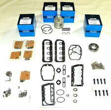 "WSM Outboard Mercury 40-50 Hp 2.565"" Bore Power Head Rebuild Kit 780-9229A 7,"