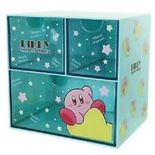 UK SELLER Nintendo Kirby of the Stars character chest drawer blue Japan NEW