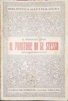 Punitore Di Se Stesso,P. Afro Terenzio  ,Signorelli,1933