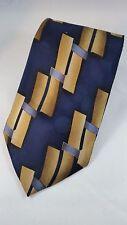 KEITH DANIELS 100% Silk Men's Tie NWOT Black Gold Necktie