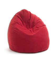 Design Sitzsack für Kinder  Sitzkissen Beanbag Mario Microfaser 150 L. Rot