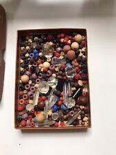 Lot De Perles Anciennes Toutes Tailles