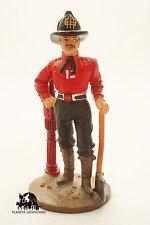 Figurine Del Prado Sapeur Pompier Tenue de travail New York Etats Unis 1840