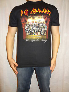 Def Leppard The Sparkle Lounge 2008 Tour T-shirt Size Small