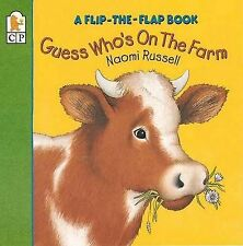 Guess Who's on the Farm: A Flip-the-Flap Book-ExLibrary