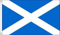 5' x 3' St Andrews Cross Flag Saint Andrew Day Scotland Scottish Satire Banner