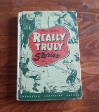 Vintage Mary Martha's REALLY-TRULY Book Four 1949 HC Gwendolen Hayden Homeschool