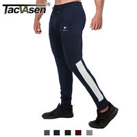 TACVASEN Mens Tracksuit Sport Gym Train Pants Skinny Joggers Sweatpants Trousers