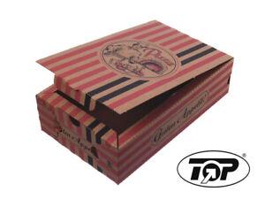 100x Pizzakarton Calzone 27x16x7cm
